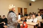 Урок в школе № 13 Великий Новгород (23.08.12)