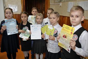 В Пскове прошел первый день конкурса по пожарной и электробезопасности среди четвероклассников