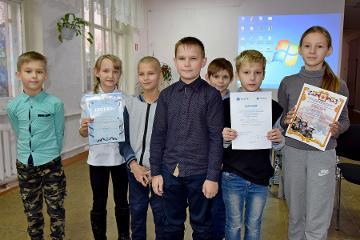Команда Псковской общеобразовательной школы-интерната завоевала диплом «Псковэнерго»