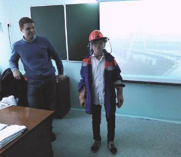 «Тайну желтого треугольника» узнали семиклассники одной из школ в Череповце