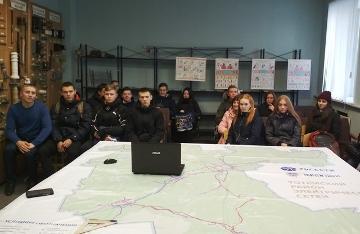 Экскурсию для студентов и урок по электробезопасности провели специалисты «Вологдаэнерго»