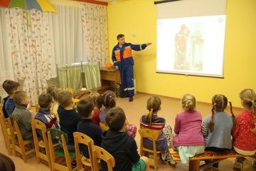 Воспитанники «Радуги» узнали о безопасном электричестве