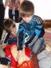 Урок в детском доме п. Сиверский (Лен. обл.)