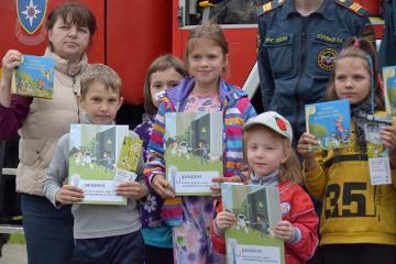 Накануне Дня защиты детей в псковской Деревне SOS по традиции повторили правила электробезопасности