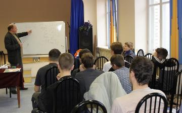 Сотрудники «Вологдаэнерго» провели лекцию по профилактике электротравматизма в Великоустюгском многопрофильном колледже