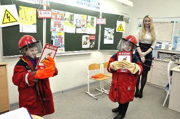 Специалисты «Новгородэнерго» преподали школьникам урок