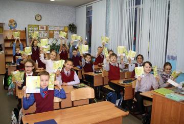 Специалисты Колэнерго провели урок по электробезопасности для школьников жилого района Росляково города Мурманска